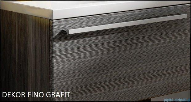 Antado Spektra Szafka wisząca górna 30x20x72 fino grafit FDF-418/46