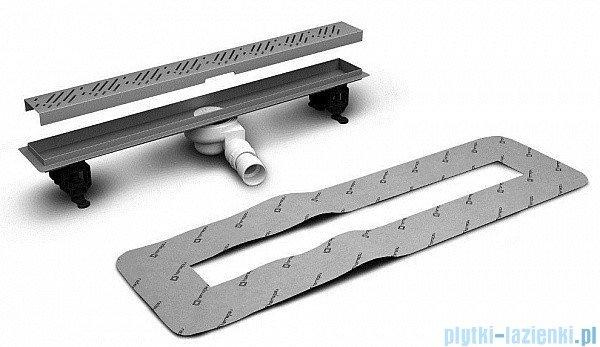 Radaway Steel Odpływ liniowy 95x8cm 5L095A,5R095S