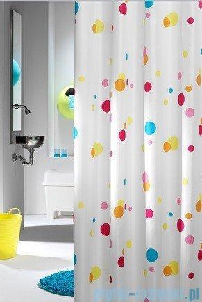 Sealskin Dots zasłona prysznicowa tekstylna 180x200cm 232721303
