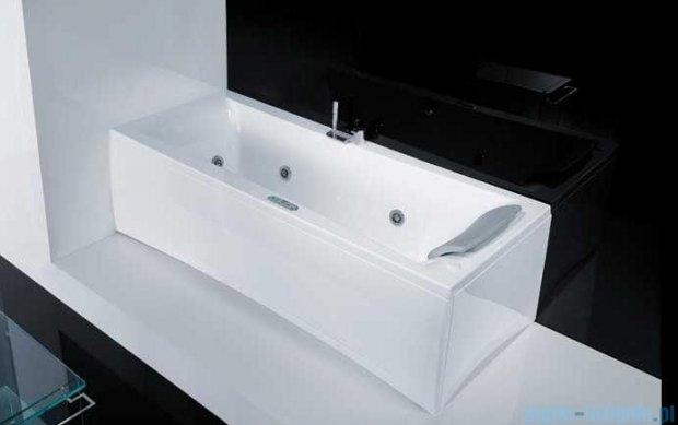 Novellini Elysium Wanna Y 190x80 z hydromasażem wodnym LEWA Y519080RS2-A2K