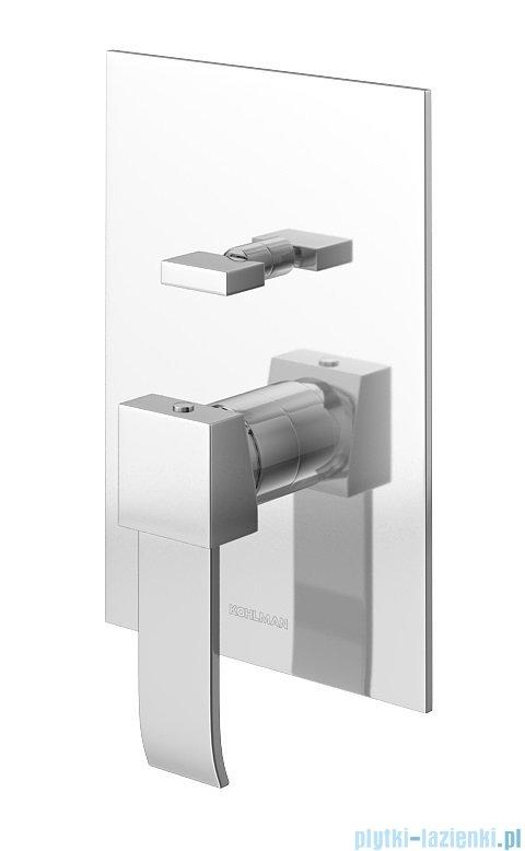 Kohlman Axis zestaw prysznicowy chrom QW210NR35