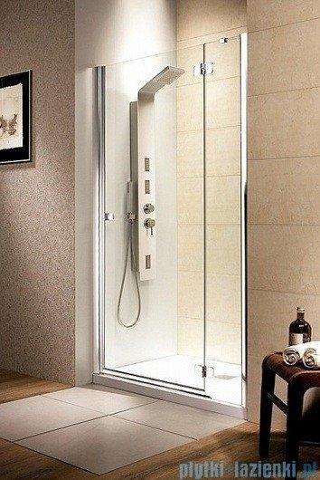Radaway Drzwi wnękowe Fuenta DWJ 100 prawe szkło przejrzyste 381014-01NR