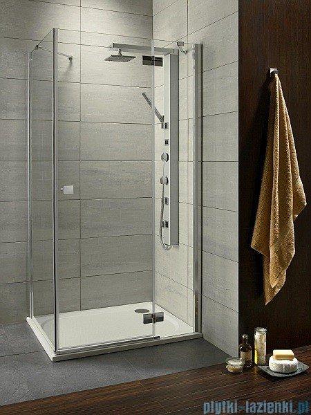 Radaway Almatea Kdj Gold kabina prysznicowa 90x75 prawa szkło grafitowe 32147-09-05NR