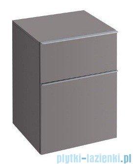Keramag Icon Szafka wisząca boczna niska 45cm platynowy połysk 840047