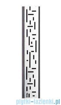 Tece Ruszt prosty Lines ze stali nierdzewnej Tecedrainline 150 cm połysk 6.015.20