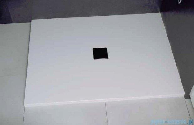 Besco Nox ultraslim white 100x80cm brodzik prostokątny biały/biały BMN100-80-BB