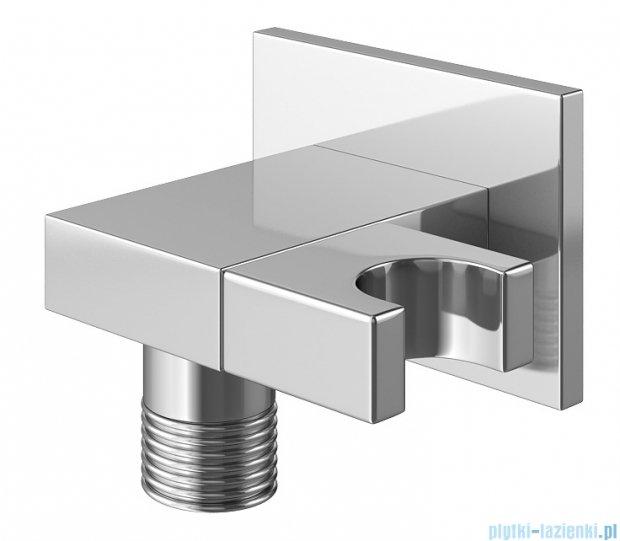 Kohlman Saxo zestaw wannowo-prysznicowy chrom QW211SQ40