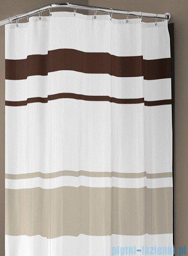 Sealskin Urban brąz zasłona prysznicowa tekstylna 180x200cm 233241374