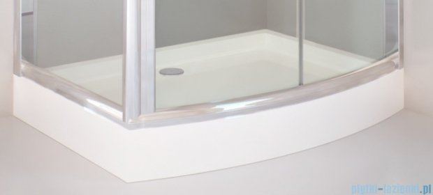 Sea Horse Sigma kabina  Tytan 120x90 szkło: grafitowe  BK262G + Brodzik prysznicowy  120 x 90  BKB262