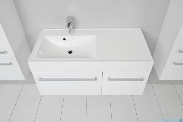 Antado Variete szafka z umywalką, wisząca 100 biały połysk FM-442/6 + FM-442/4 + UNAM-1004L