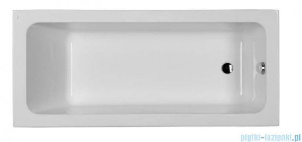 Koło Modo Wanna prostokątna 160x70cm odpływ z boku XWP1160