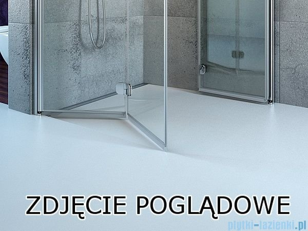 Radaway Essenza New Kdj kabina 90x80cm prawa szkło przejrzyste 385044-01-01R/384051-01-01