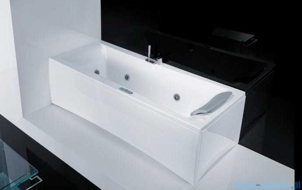 Novellini Elysium Wanna Y 190x80 z hydromasażem wodnym LEWA Y519080RS2-A0K