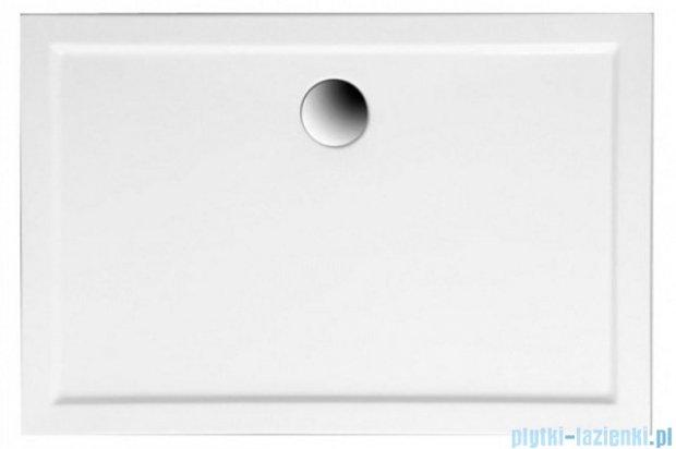 Polimat Goliat brodzik prostokątny 120x80x14 biały 00182