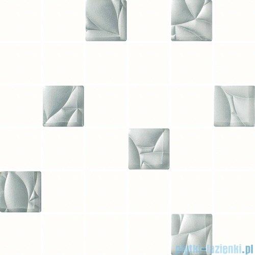 Paradyż Esten bianco/silver mix mozaika 29,8x29,8