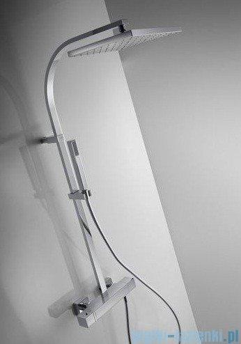 Tres Cuadro Exclusive Zestaw termostatyczny natryskowy kolor biały chrom 4.07.395