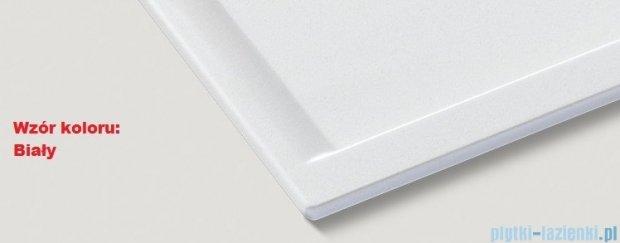 Blanco Zenar 45 S-F  Zlewozmywak Silgranit PuraDur komora prawa kolor: biały z kor. aut. z jesionową deską do krojenia 519185