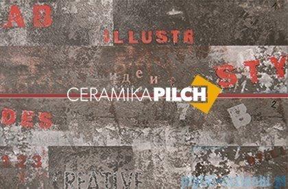 Pilch City 4 dekor ścienny 2-elementowy 40x60