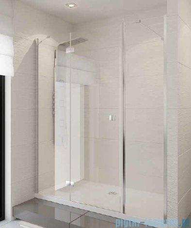 New Trendy Modena Plus drzwi prysznicowe 140cm lewe szkło przejrzyste EXK-1007/EXK-1043L