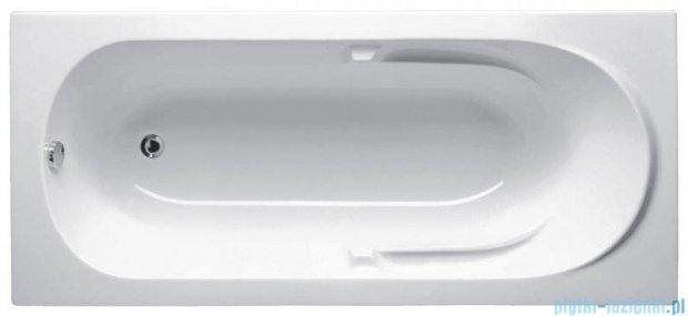 Riho Future Wanna prostokątna 180x80 + nóżki + syfon BC31/01U/AMC55