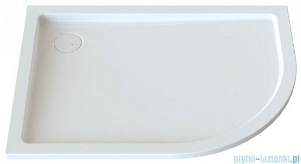Sanplast Free Line brodziki asymetryczny BP-L/FREE 80x100x5+STB lewa 615-040-1760-01-000