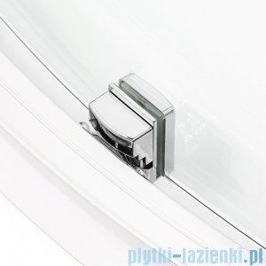 New Trendy New Maxima kabina asymetryczna 100x80x165cm grafit K-0296