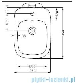 Koło Style Bidet stojący z otworem z powłoką Reflex L25000900