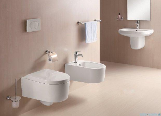Alterna Vivo Półpostument do umywalki biały 280x185x260mm ALTN-124478