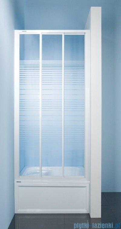 Sanplast drzwi przesuwne DTr-c-100 szkło Sitodruk W4 600-013-1711-01-410