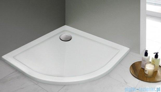 Sanplast Prestige brodziki półokrągłe BP/PR 80x80x3 cm 615-070-0720-01-000