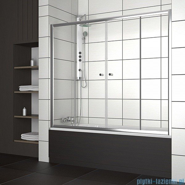 Radaway Vesta DWD Drzwi przesuwne 150 cm szkło fabric 203150-06