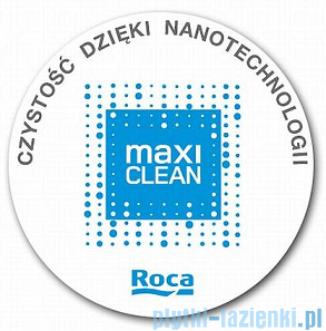 Roca Meridian-N Compacto Umywalka meblowa 85x46cm z blatem powłoka Maxi Clean A32724M00M