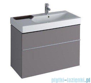 Keramag Icon Szafka wisząca pod umywalkowa 89cm platynowy połysk 840392