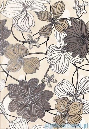 Domino Opium flower dekor ścienny 25x36