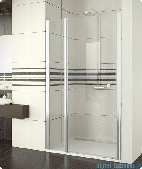 SanSwiss Swing Line SL13 Drzwi prysznicowe 80-120cm profil połysk SL13SM15007