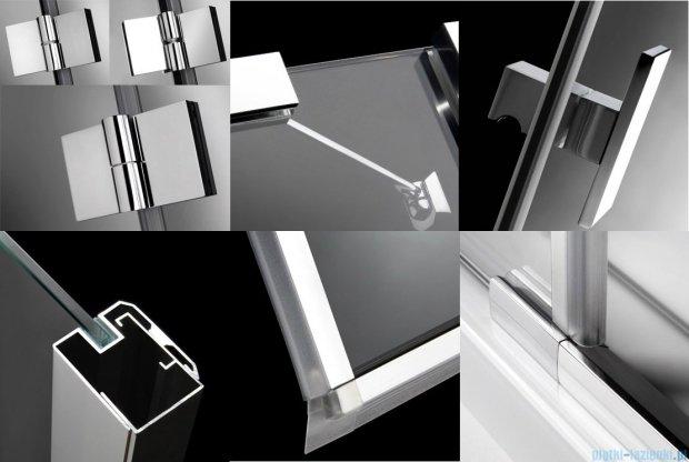 Radaway Essenza KDJ + S kabina 120x80 lewa szkło przejrzyste 32932-01-01L