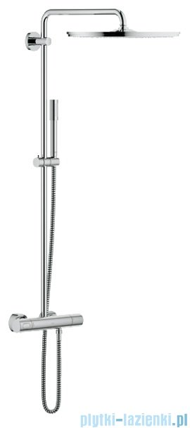 Grohe Rainshower 400 system natryskowy z prysznicem górnym 40cm  27174001
