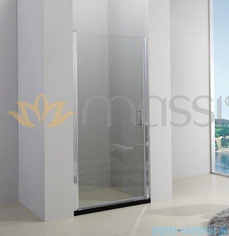 Massi Glasso drzwi prysznicowe 90x185 cm przejrzyste FA651-90