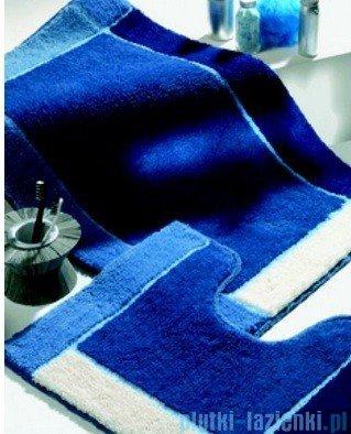 Sealskin Dywanik łazienkowy kontur Roma niebieski 55x45cm 293315021