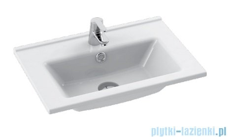 Cerastyle Arte umywalka 55x36,5cm meblowa / ścienna 067200-u
