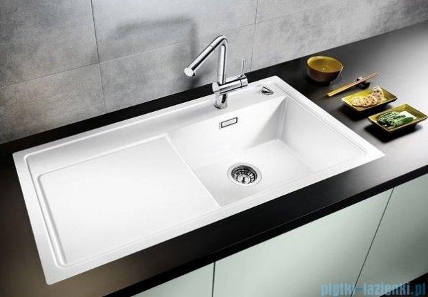 Blanco Zenar XL 6 S-F  Zlewozmywak Silgranit PuraDur komora prawa kolor: kawowy z kor. aut. i deską do krojenia z drewna jesionowego 519322