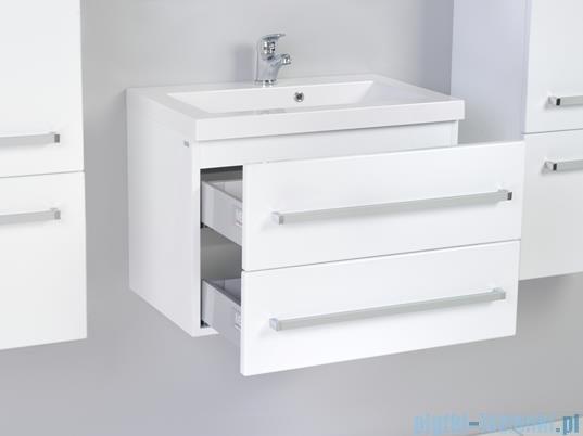 Antado Variete Szafka podumywalkowa wisząca z dwiema szufladami 60x39x40 biały połysk FM-C-442/6/2GT
