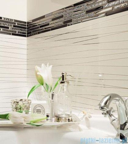 Tubądzin Abisso white 2 dekor ścienny 29,8x74,8