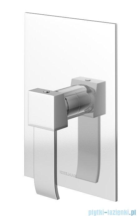 Kohlman Axis zestaw prysznicowy chrom QW220NR40
