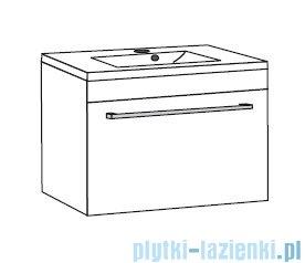 Antado Spektra ceramic szafka z umywalką 62x43x40 fino grafit FDF-AT-442/65GT-46+UCS-AT-65