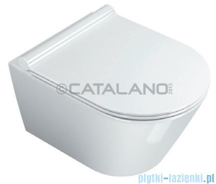 Catalano Zero wc 50 miska WC wiszący 50x35cm biały 1VSV50N00