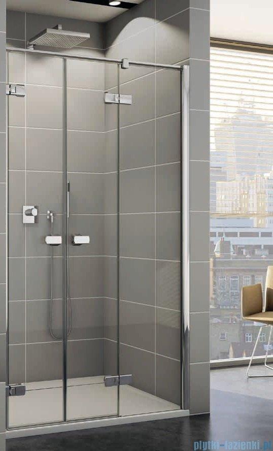 Sanswiss Melia ME32 Drzwi prysznicowe prawe do 140cm przejrzyste ME32PDSM11007