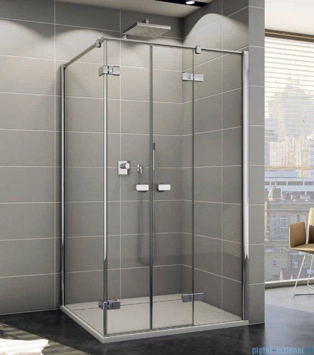 Sanswiss Melia ME32 Kabina prysznicowa prawa 90x80cm przejrzyste ME32PD0901007/MET2PG0801007