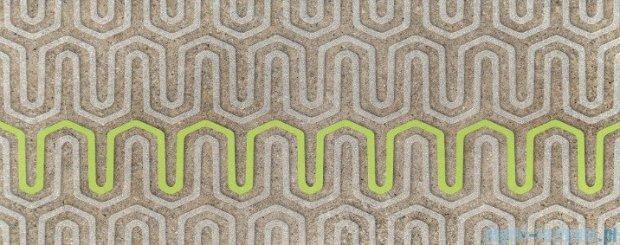 Tubądzin Lemon Stone grey A dekor ścienny 29,8x74,8