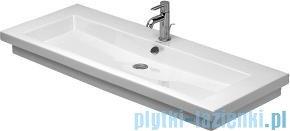 Duravit 2nd floor umywalka z przelewem bez otworu na baterię 1200x505 mm 049112 00 60